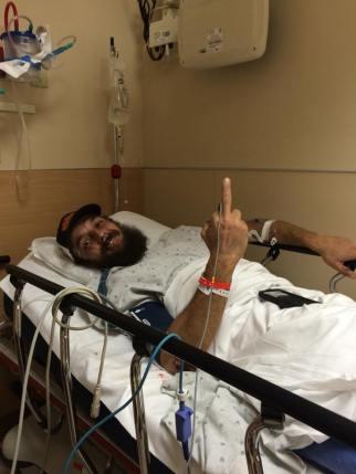 Krazy Karl - two aspirin and a positive attitude will even get you through a broken femur. Even