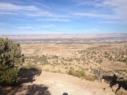 the endless high altitude desert