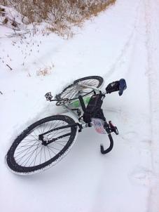 No fat bike... Skinny Crack Whore bike