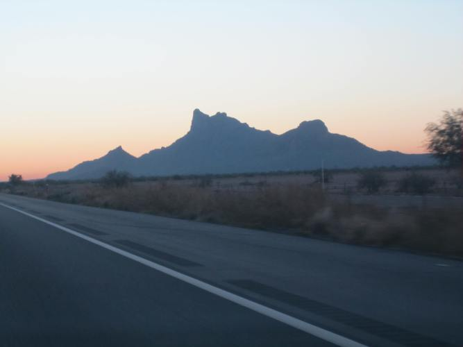 Picacho Peak - bucket list to hike this every time I pass. Someday...