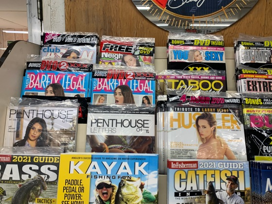 Everything at Gas Stations is legal for Racers. Says the Race Director.. So what's your favorite mag?